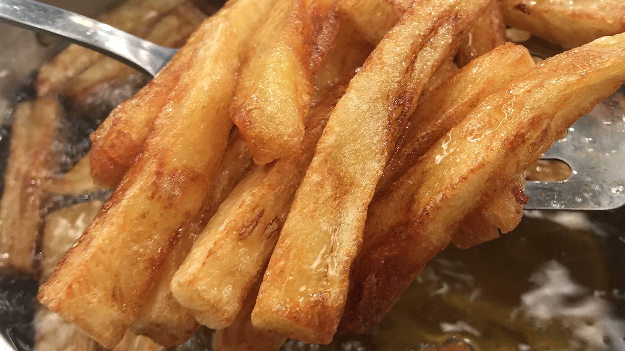 Τραγανές τηγανιτές πατάτες | Λάμπρος Βακιάρος