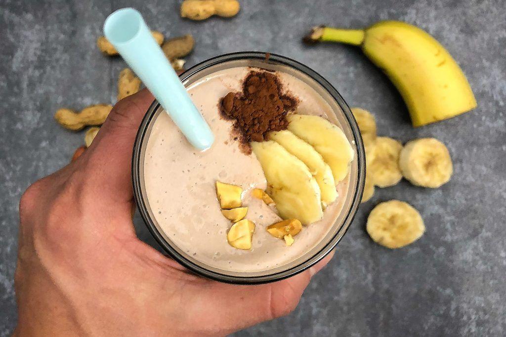 Μπανάνα Φιστικοβούτυρο   Λάμπρος Βακιάρος