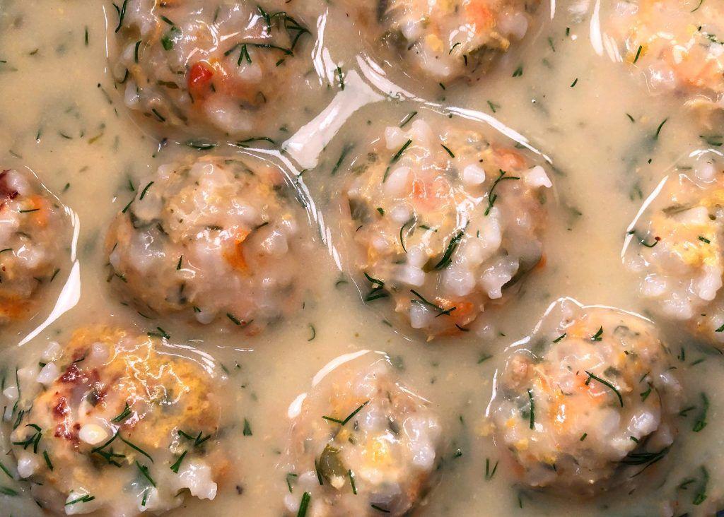 Γιουβαρλάκια Κοτόπουλου με λάιμ και κρέμα λεμονιού | Λάμπρος Βακιαρος