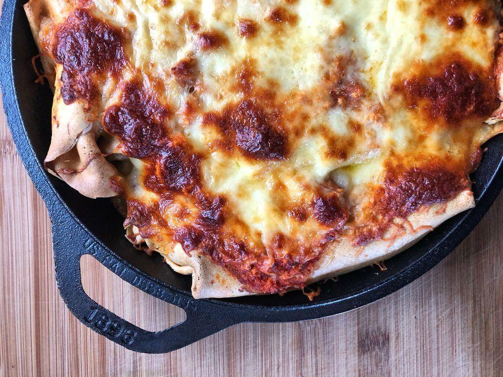 Τυρένια Κανελόνια από Κρέπες με Μπολονέζ Κοτόπουλου | Λάμπρος Βακιάρος