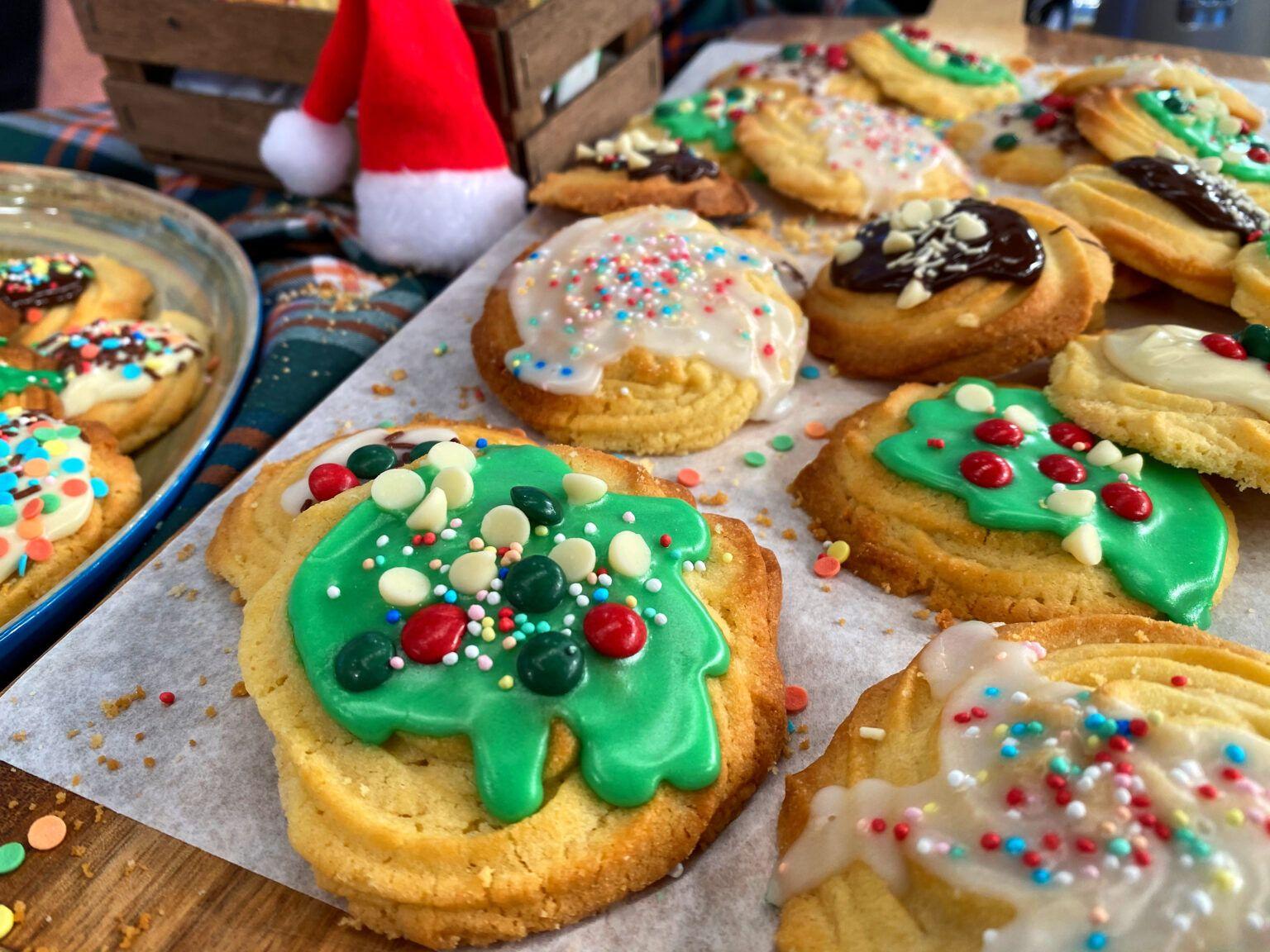 Χριστουγεννιάτικα Βουτυρένια Μπισκότα