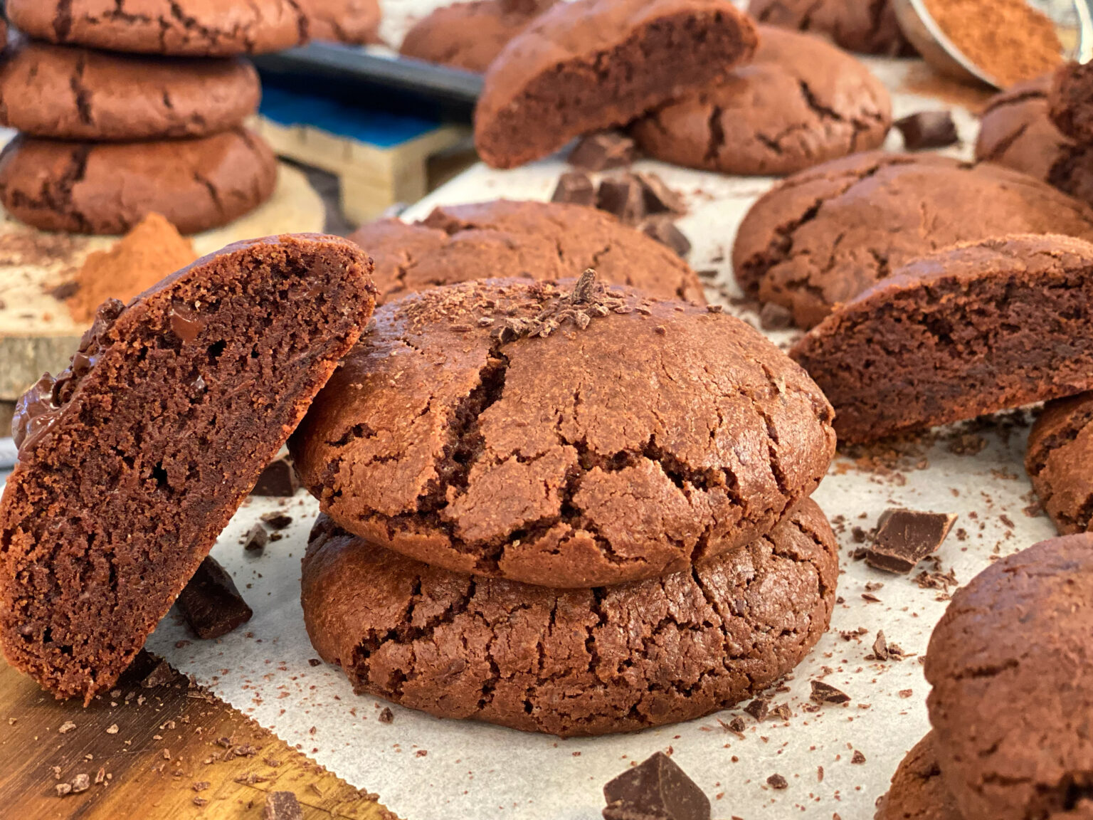 Μαλακά Μπισκότα Brownie