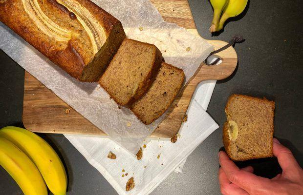 Banana Bread Χωρίς Γλουτένη Λάμπρος Βακιάρος