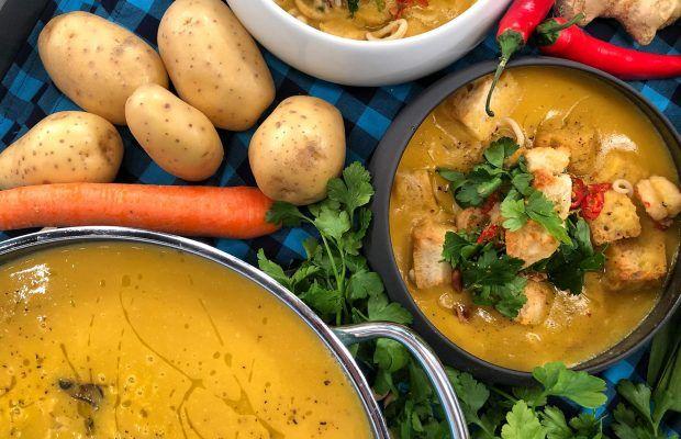 Βελουτέ Σούπα με Θαλασσινά  | Λάμπρος Βακιάρος