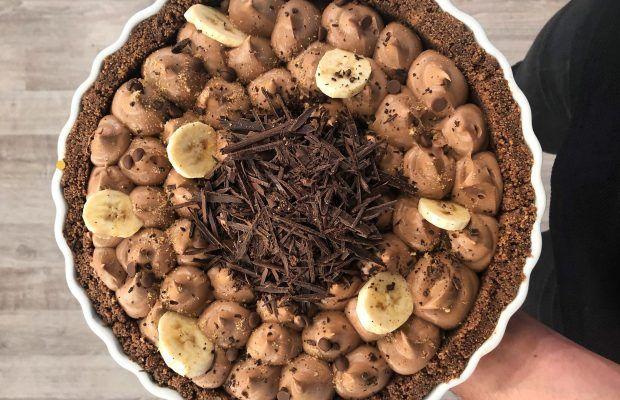 Σοκολατένιο Banoffee Ταρτσ | Λάμπρος Βακιάρος