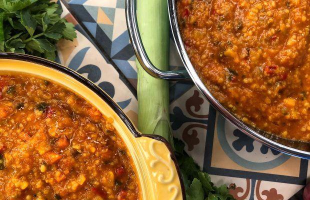 Θρεπτική σούπα με τραχανά | Λάμπρος Βακιάρος