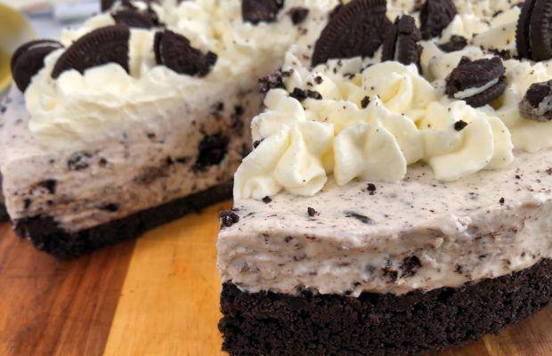 Μπισκοτένιο Cheesecake Χωρίς Ψήσιμο   Λάμπρος Βακιάρος