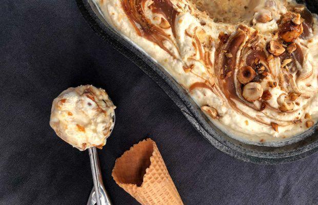 Παγωτό με καραμέλα | Λάμπρος Βακιάρος