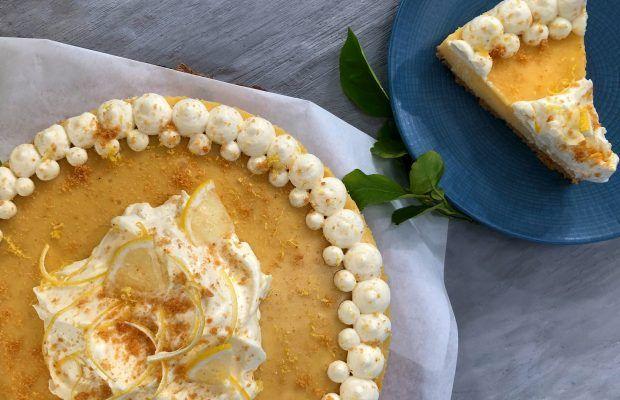 Καλοκαιρινό γλυκό ψυγείου με λεμόνι | Λάμπρος Βακιάρος