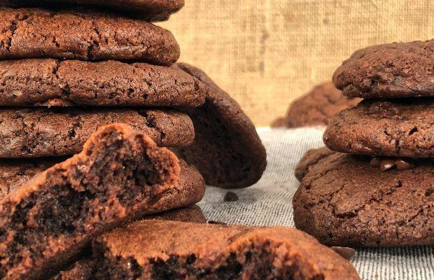 Σοκολατένια Μαλακά Μπισκότα - Cookies | Λάμπρος Βακιάρος