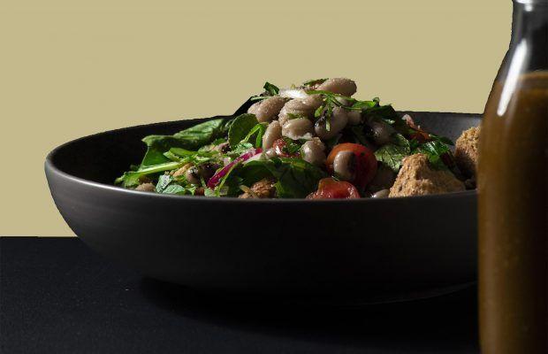 Σαλάτα με Φασόλια και Βινεγκρερ | Λάμπρος Βακιάρος