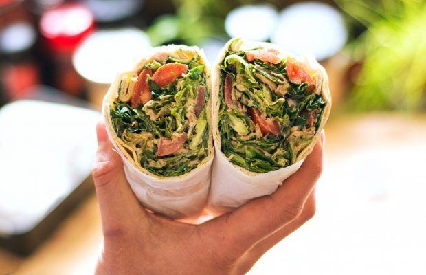 Salad Wrap με τόνο | Λάμπρος Βακιάρος