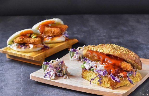 Παναρισμένο κοτόπουλο σε Σάντουιτς | Λάμπρος Βακιάρος