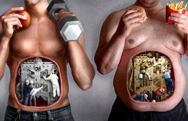 Healthy Unhealthy Body | Lambros Vakiaros