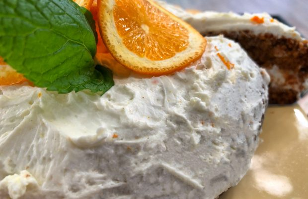 Cake πορτοκαλιού με βρώμη χωρίς ζάχαρη, χωρίς αλέυρι | Λάμπρος Βακιάρος