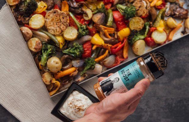 ψητά λαχανικά στο φούρνο